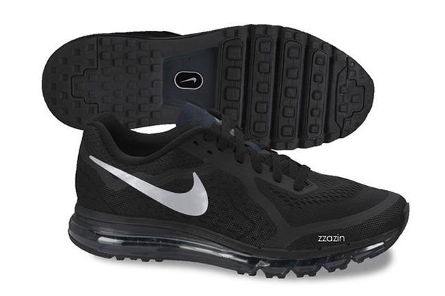 nike air max 2014 all black