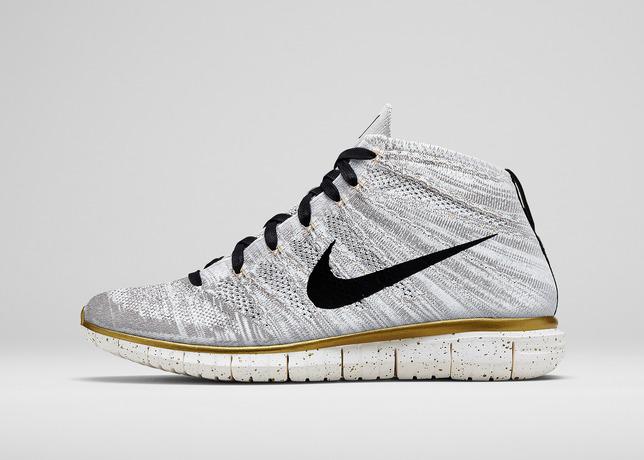 Nike Roshe Run Blancas Y Doradas