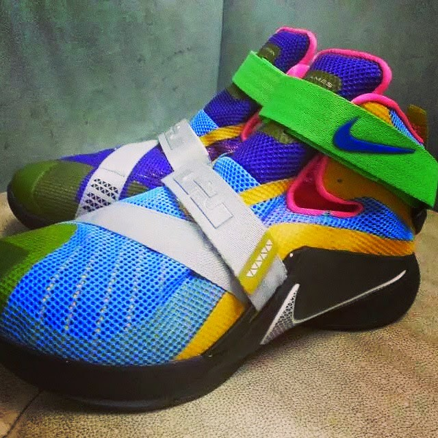 Nike LeBron Soldier 9 Multicolor sampleLebron Soldier 9